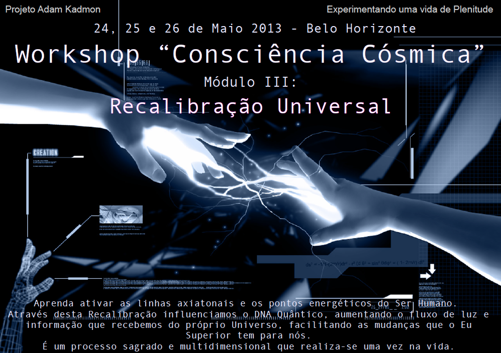 Workshop Consciência Cósmica Mod III