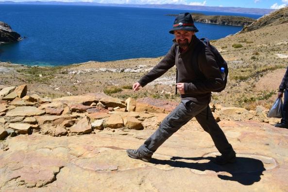 Ilha do Sol - Caminho sagrado - Pisada do Inca