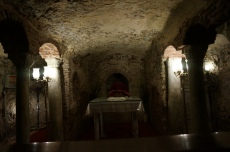 Cripta da Sagrada Familia Cairo - Viagem Egito Multidimensional - Jan 2015