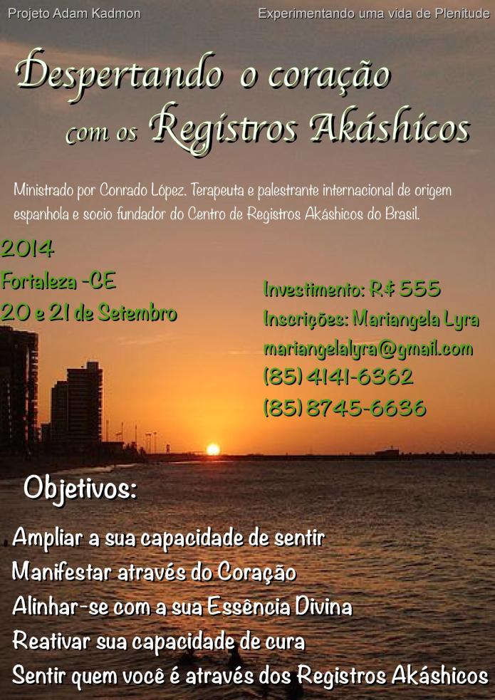 Workshop Amo Sentir Fortaleza 2014