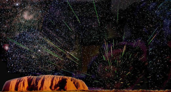 leonidas sobre Uluru