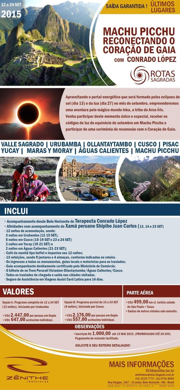 Rota Sagrada: Machu Picchu com Conrado Lopez
