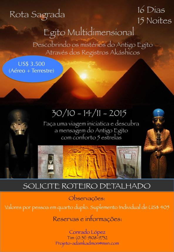 Viagem Egito Nov 2015 com Conrado López