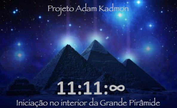 Iniciação na Grande Pirâmide 11:11:∞ com Conrado López