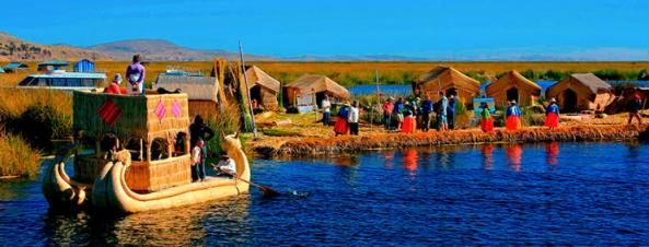 Viagem Lago Titicaca e Tiwanacu Set 2016: Ilhas dos Uros