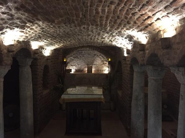 Cripta da Sagrada Família • Egito MARÇO 2020 • Viagens Sagradas com Conrado López • Inunssui