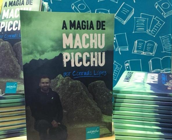 Livro A Magia de Machu Picchu por Conrado López