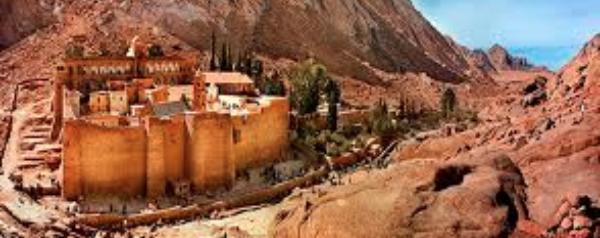 Mosteiro de Santa Catalina • Viagens Sagradas • Egito & Jordânia • JUN 2019