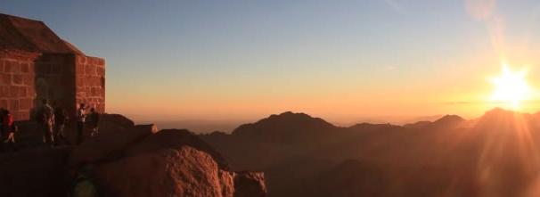 Amanhecer no Monte Sinai • Viagens Sagradas • Egito & Jordânia • JUN 2019